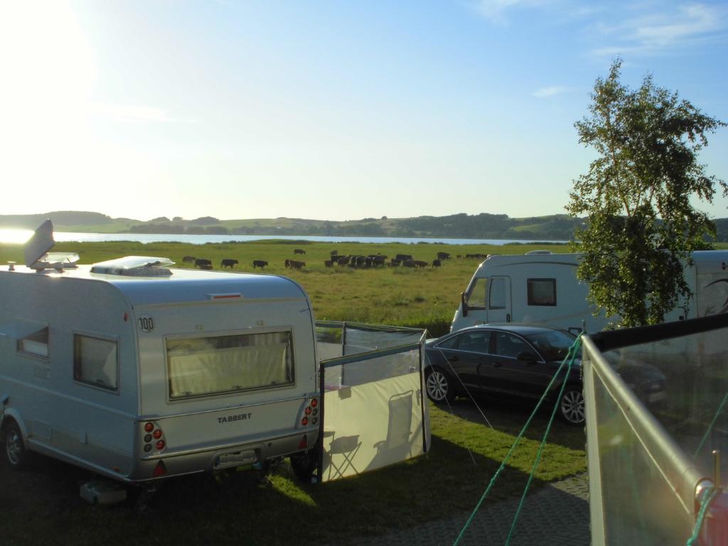 Campen zwischen Ostsee und Bodden in Thiessow
