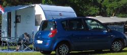 Anreise zum Campingplatz Thiessow mit Auto und Wohnwagen oder Wohnmobil