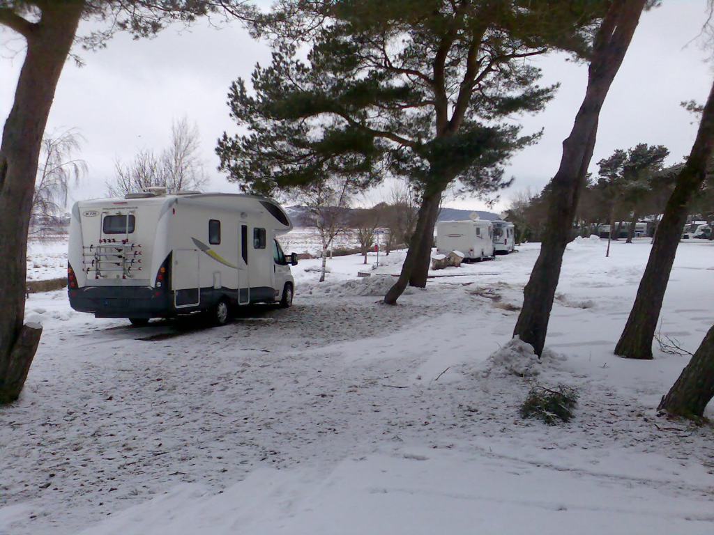 Wintercamping in Thiessow