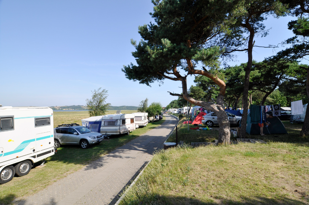 Langzeitcamping in Thiessow