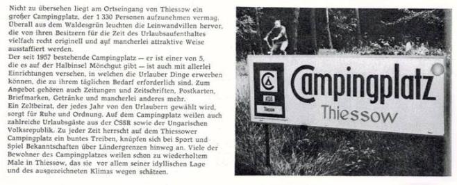 Archivbild vom Campingplatz Thiessow