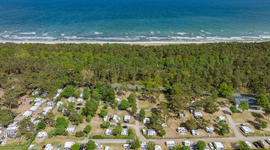 Campingplatz Thiessow Urlaub Auf Rugen Zwischen Ostsee Und